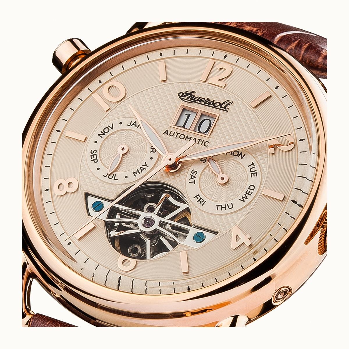 cc990b9bb Ingersoll THE NEW ENGLAND AUTOMATIC I00901 – pohanka&co. – hodinky a ...